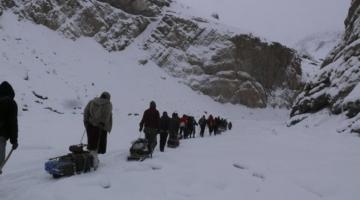 Chaddar or Frozen Zangskar River Trek