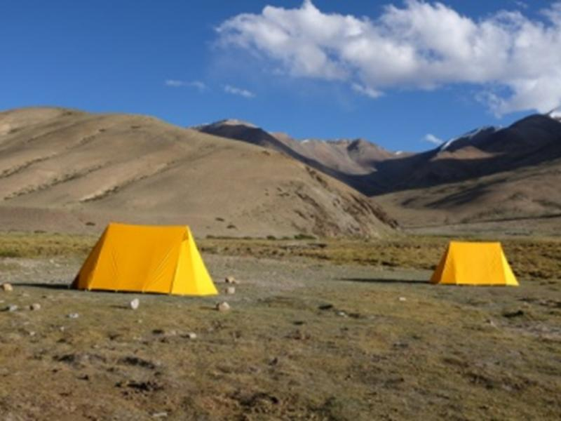 Rumtse To Tsomoriri Trek is one of the best High Altitude Treks in Ladakh.