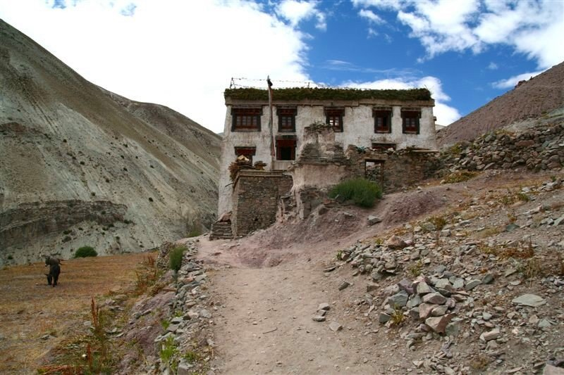 Before Ganda La Pass, Hemis National Park, Ladakh
