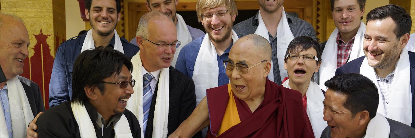 Blessings from His Holiness the Dalai Lama - Ancient Tracks